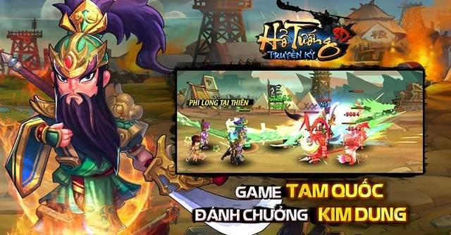 Tải Game Hổ Tướng Truyền Kỳ cho Android iOS Mobile